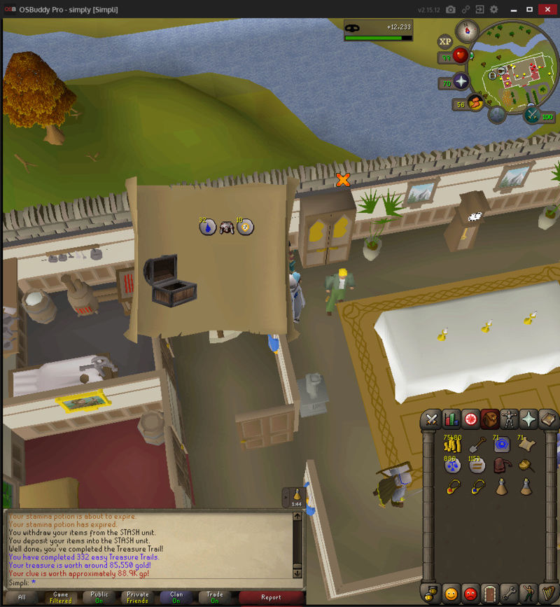 200 Easy Clues to 500 total Treasu13
