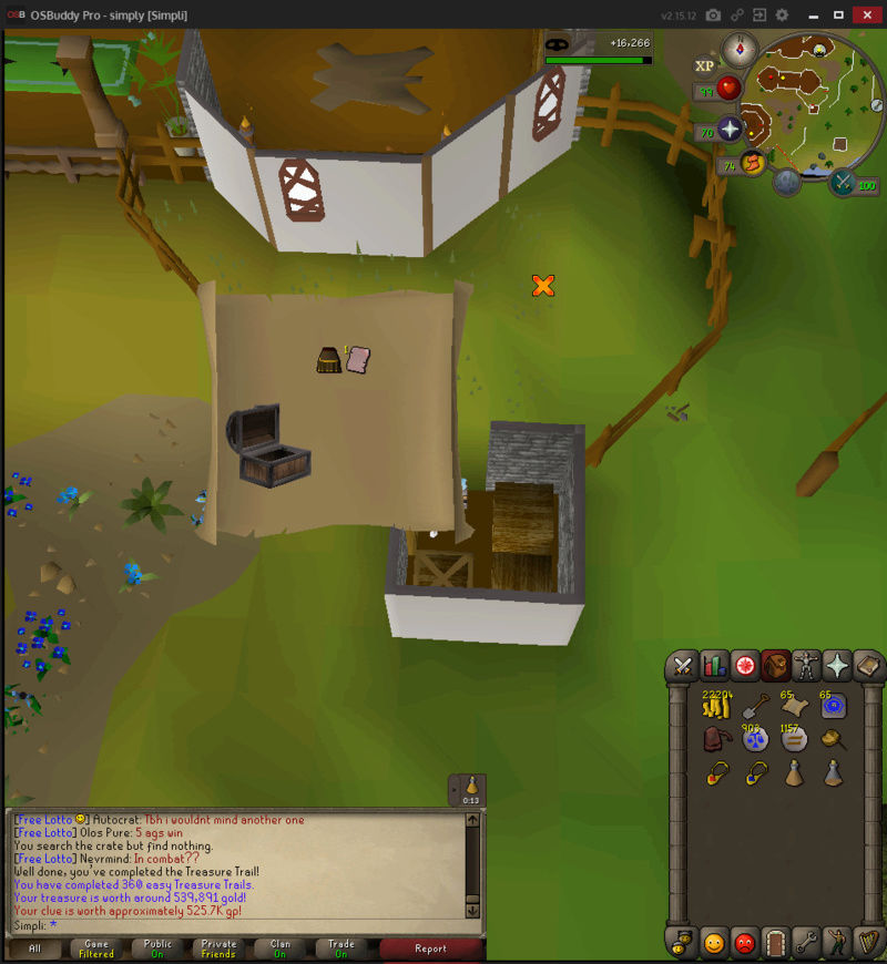 200 Easy Clues to 500 total Treasu14