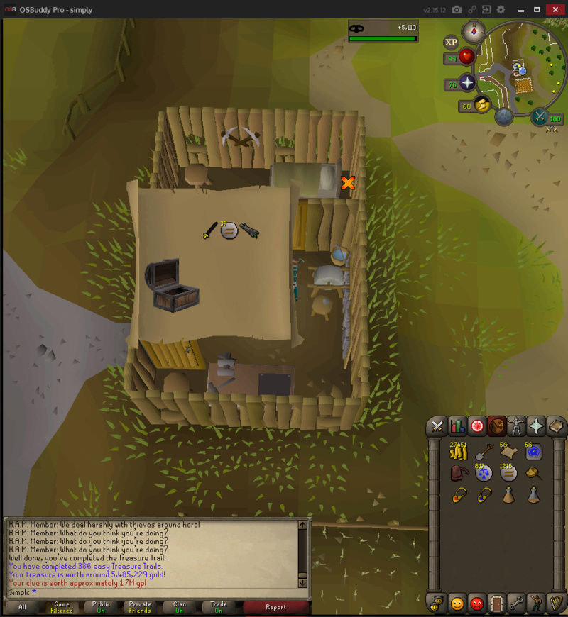 200 Easy Clues to 500 total Treasu16