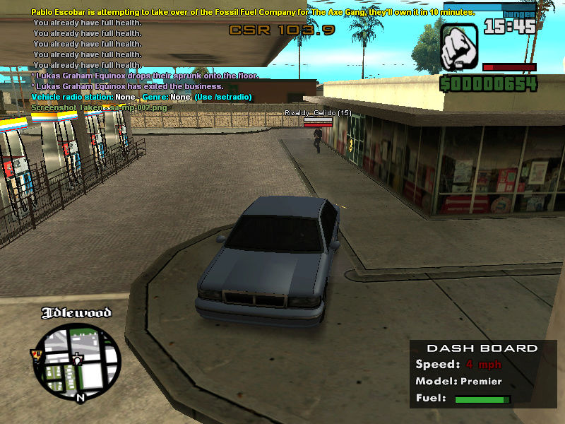 R5+DM . !Gang Complaint Sa-mp-10