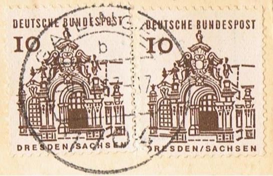 Briefmarken aus Europa Dresde11