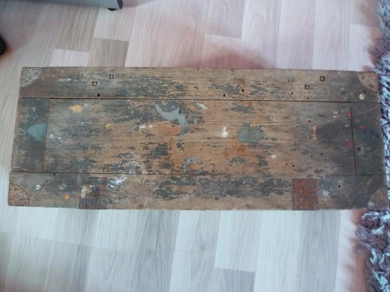 Rénover caisse munition bois Allemande P1030811