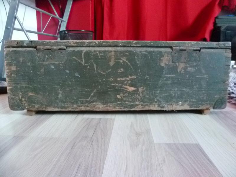 Rénover caisse munition bois Allemande P1030816