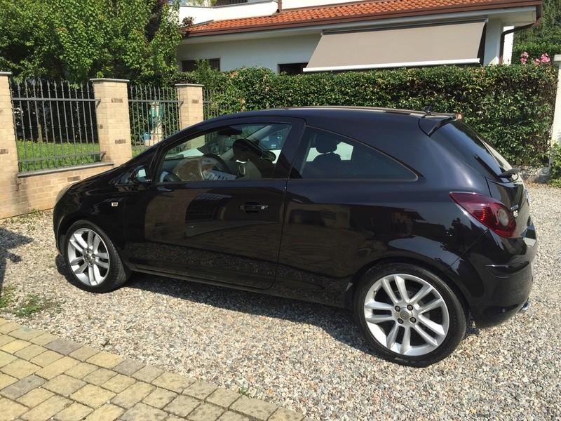 Opacizzazione vernice tetto Opel Corsa Image18