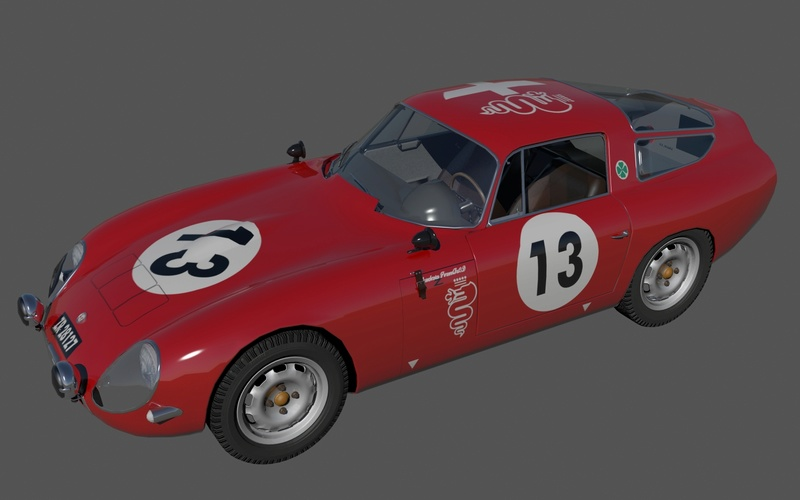 Alfa Romeo Giulia TZ -63 - looking for modder! Uvtest10