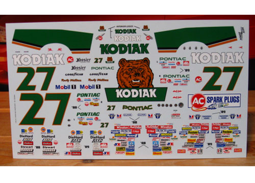 NASCAR PONTIAC  KODIAK #27 Rusty Wallace. 88/89 Img_3310