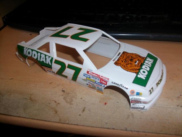NASCAR PONTIAC  KODIAK #27 Rusty Wallace. 88/89 Imgp1326