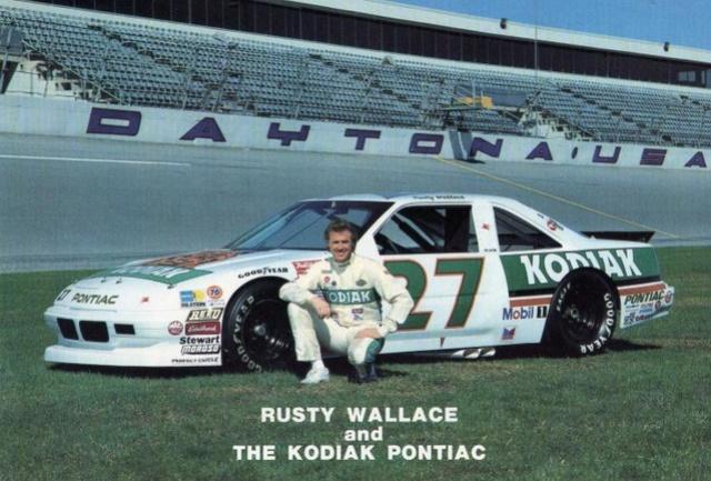 NASCAR PONTIAC  KODIAK #27 Rusty Wallace. 88/89 Rw2710