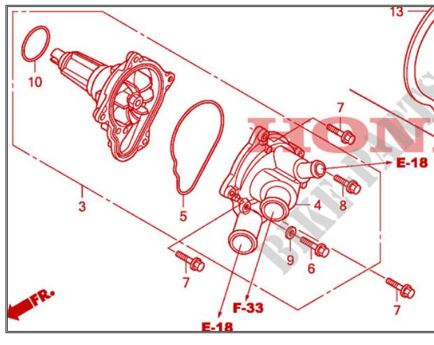 Circuit de refroidissement CBR SC59 Captur22