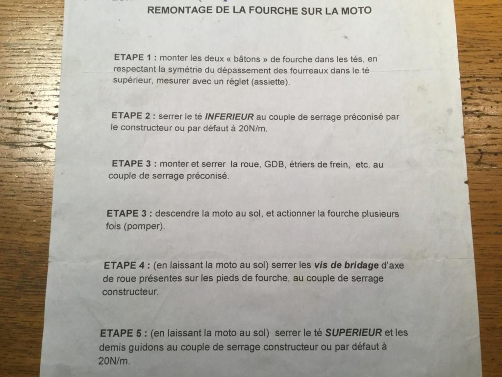 procédure montage fourche Remont10
