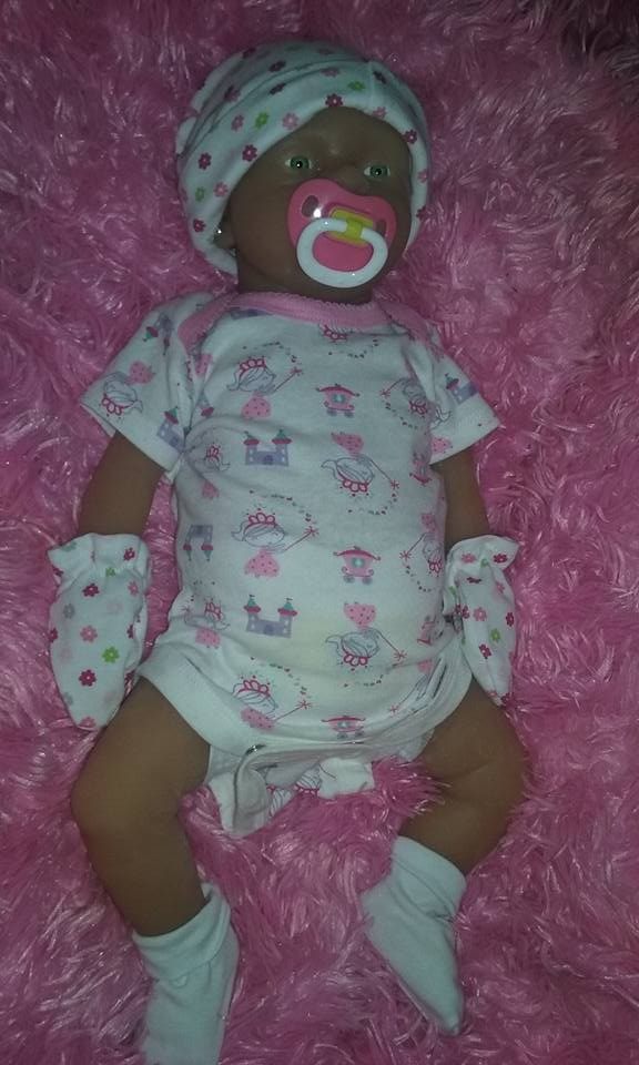 Want to trade full body silicone baby  9bg12
