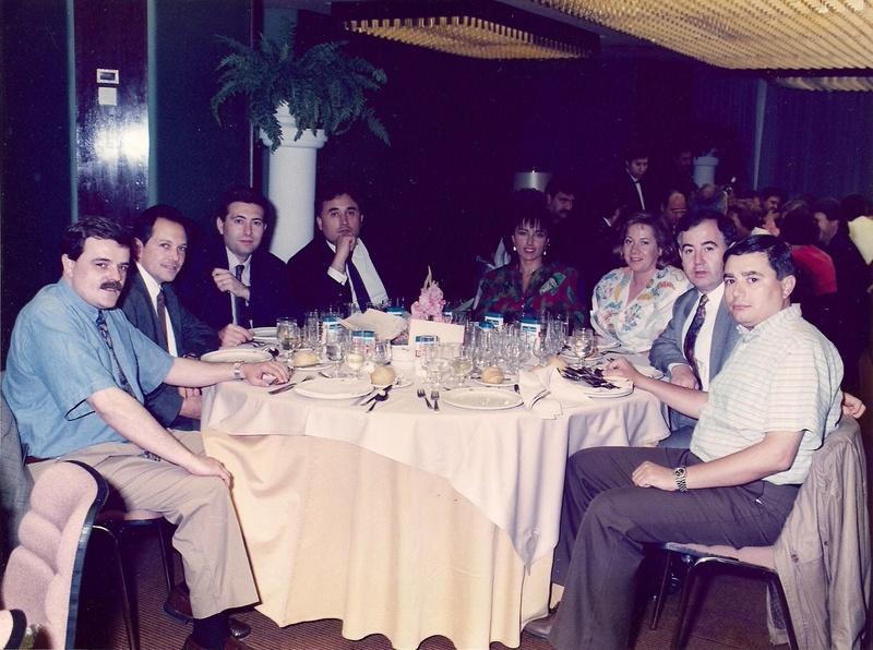 Fotografías 1-1. Orla , cenas aniversario promoción  199110