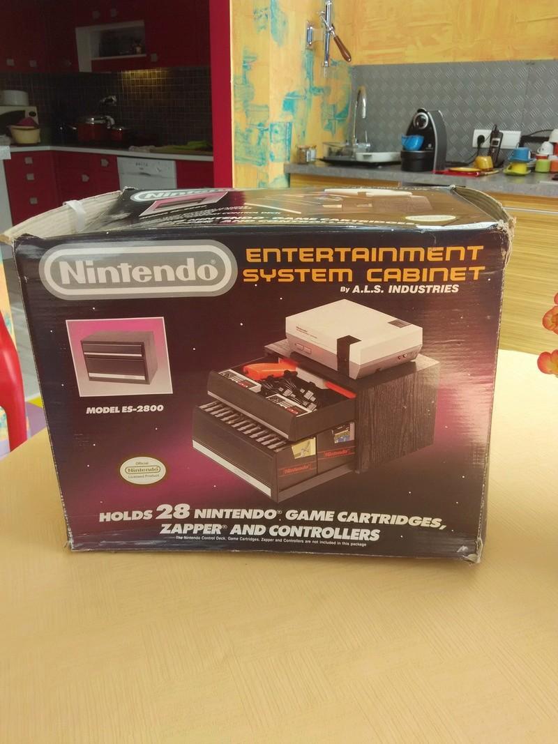 Boite vide meuble Nintendo nes cabinet Img_2020
