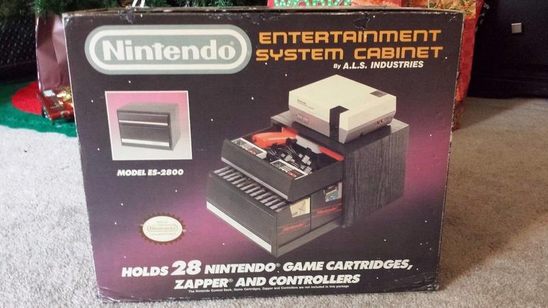 Boite vide meuble Nintendo nes cabinet Nes-ni10