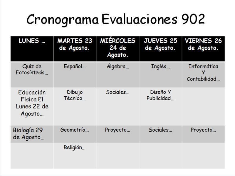 CRONOGRAMA DE EVALUACIONES BIMESTRALES TERCER  PERIODO Image_11