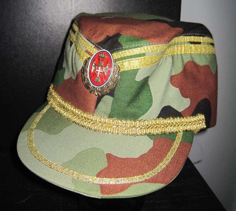 Serbian Army Camouflage Sapka Chetnik Officers CAP  Chetni12