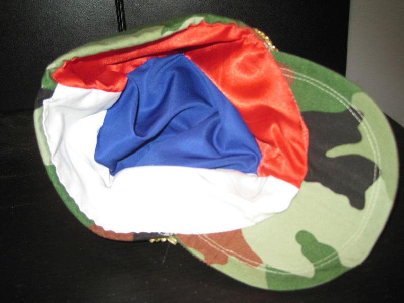 Serbian Army Camouflage Sapka Chetnik Officers CAP  S-l16912