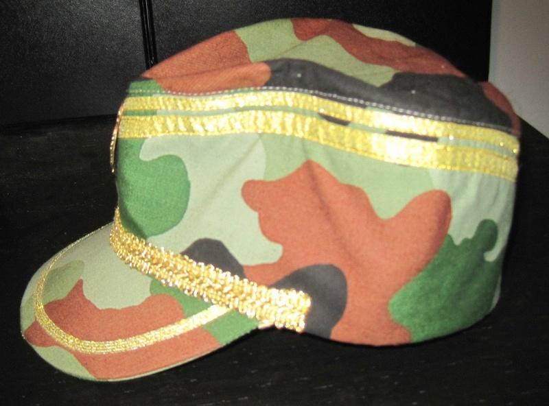 Serbian Army Camouflage Sapka Chetnik Officers CAP  S-l18012