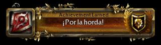 Sistema de logros Horda10