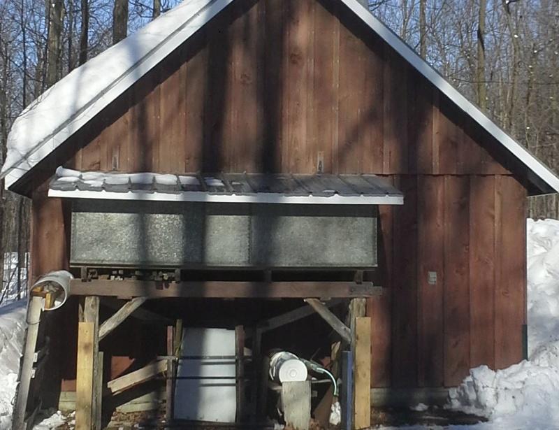 Réservoir d'eau d'érable de 450 gallons Bassin13