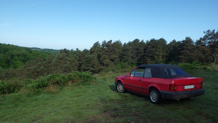 Escort MK4 Ghia Cab'  0110