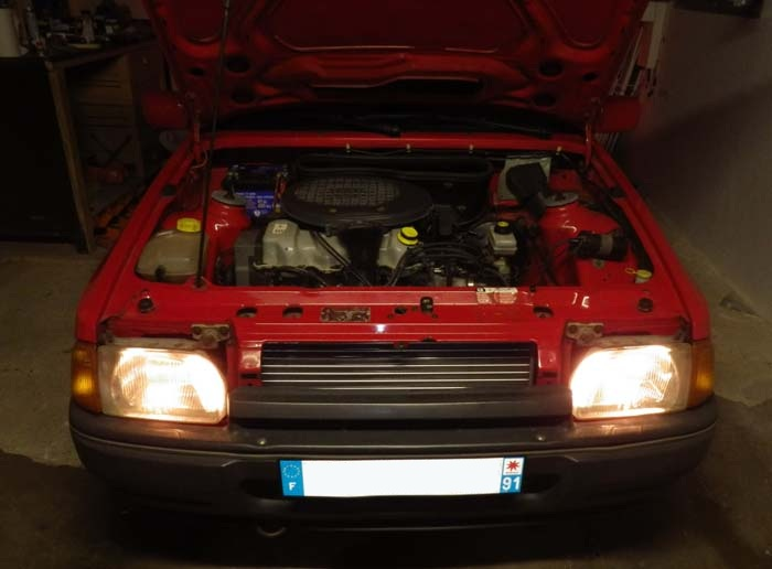 Escort MK4 Ghia Cab'  33ypef10