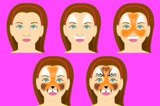 Face Painting 1-2-3 (android app) Tiger_15