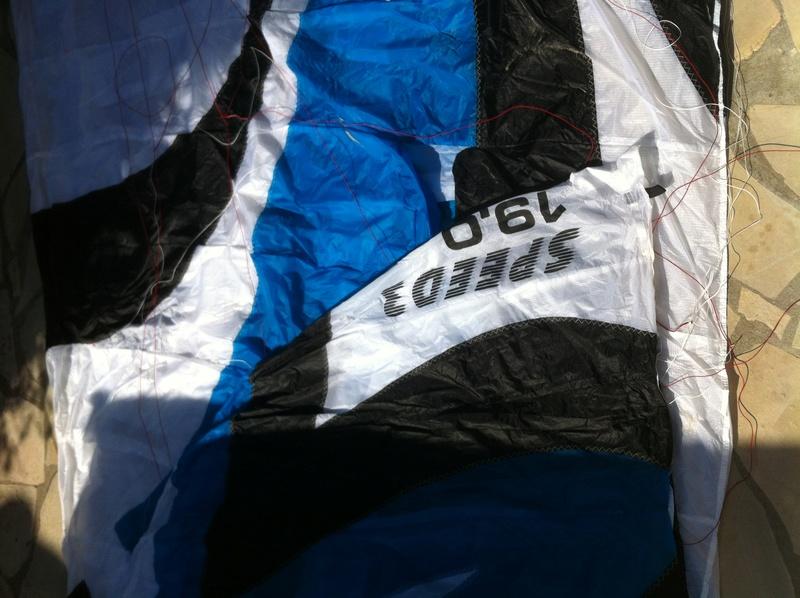 Vendue flysurfer speed 3 dlx CE 19m NEUVE -1300 euros- Img_1511