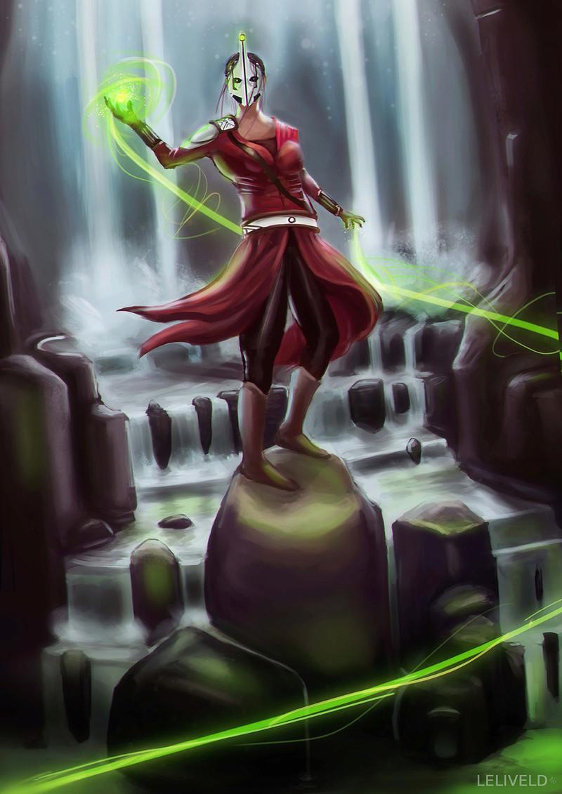 Illustrations de Jari (aka Odilion)  Shaman10