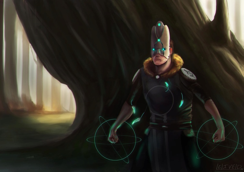 Illustrations de Jari (aka Odilion)  Shaman12