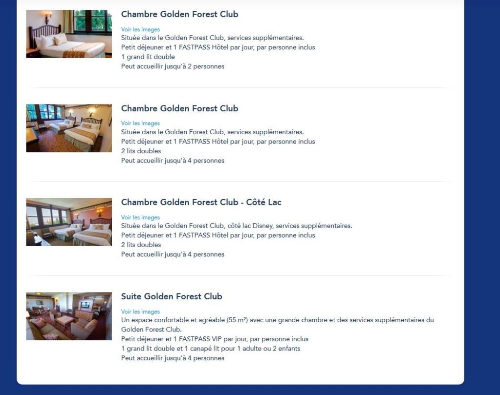 Golden forest club: quels types de chambres existent ?  Gfc10