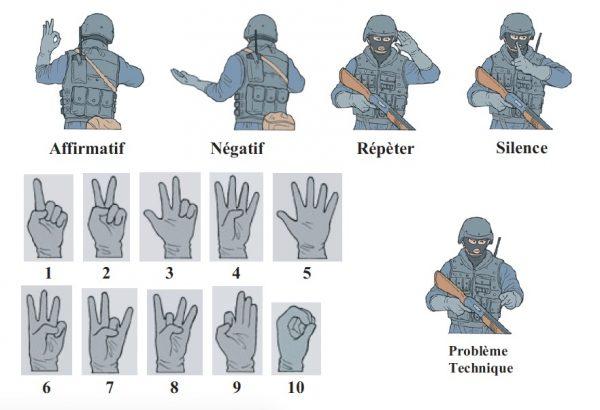 Langage des signes en airsoft As-dis10