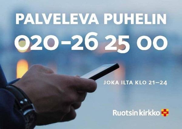 Auttavat puhelimet Ruotsissa Zzpalv11
