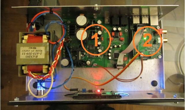 Montagem do DAC I Dac110