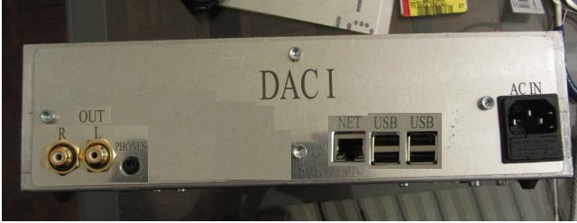 Montagem do DAC I Dac210