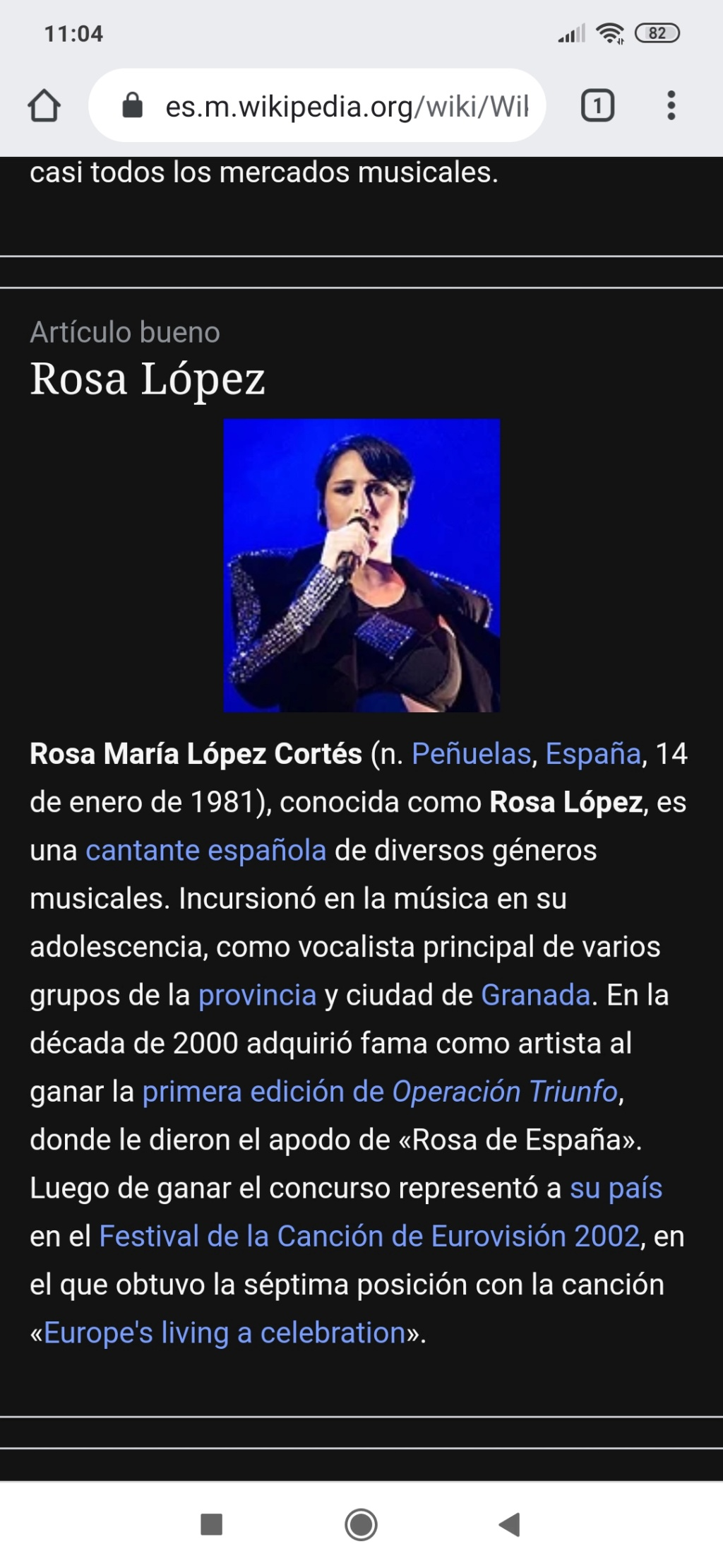 "Rosa López >> single ""La Ventana"" - Página 28 Screen14"