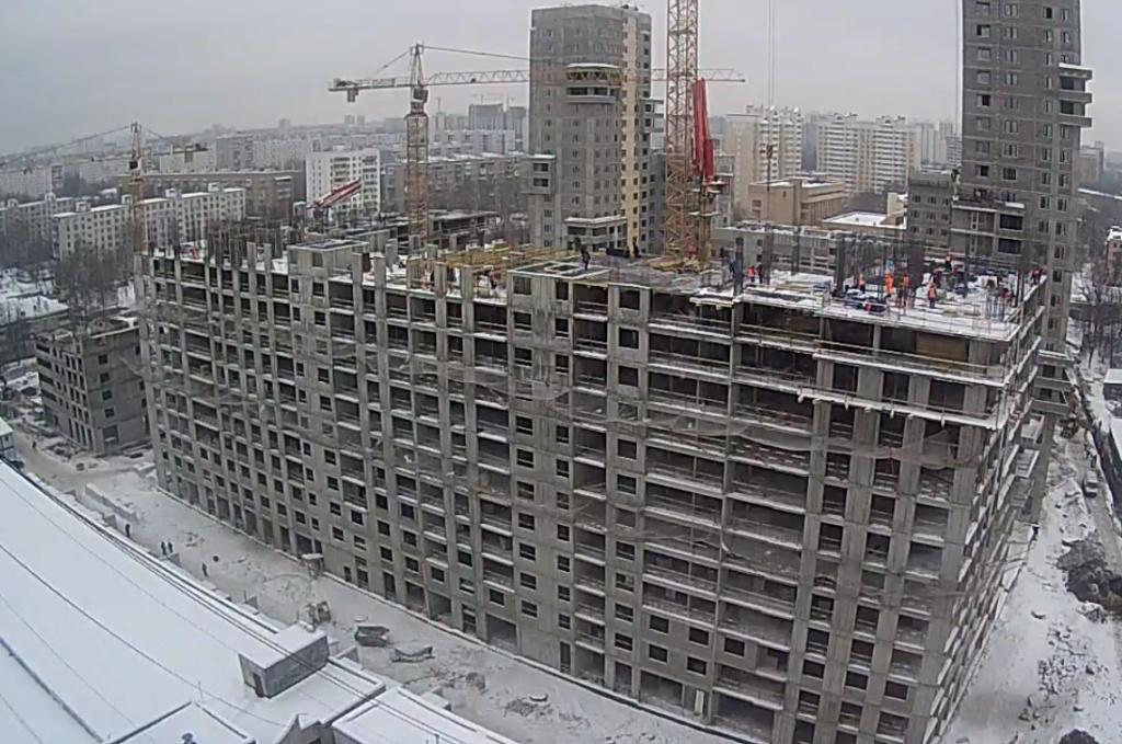 """Веб-камеры на площадке строительства ЖК """"Нормандия"""" - Страница 10 2210"""