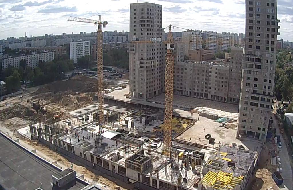 """Веб-камеры на площадке строительства ЖК """"Нормандия"""" - Страница 6 23_08_10"""