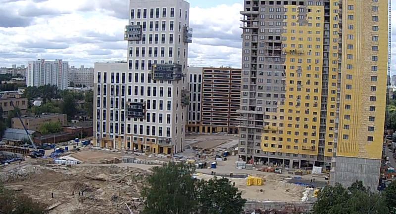 """Веб-камеры на площадке строительства ЖК """"Нормандия"""" - Страница 15 4210"""