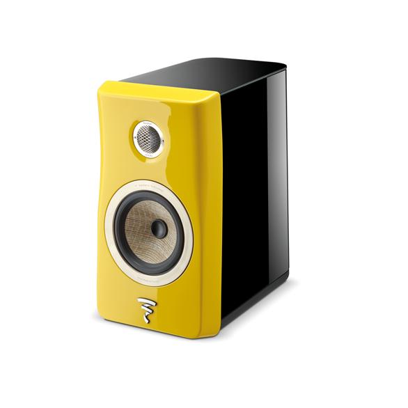 Focal acaba de lanzar cajas de estantería de su nueva línea Kanta Yellow10