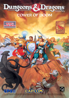 (Review OldSchool Digger) Dungeons & Dragons: Tower of Doom Towero10