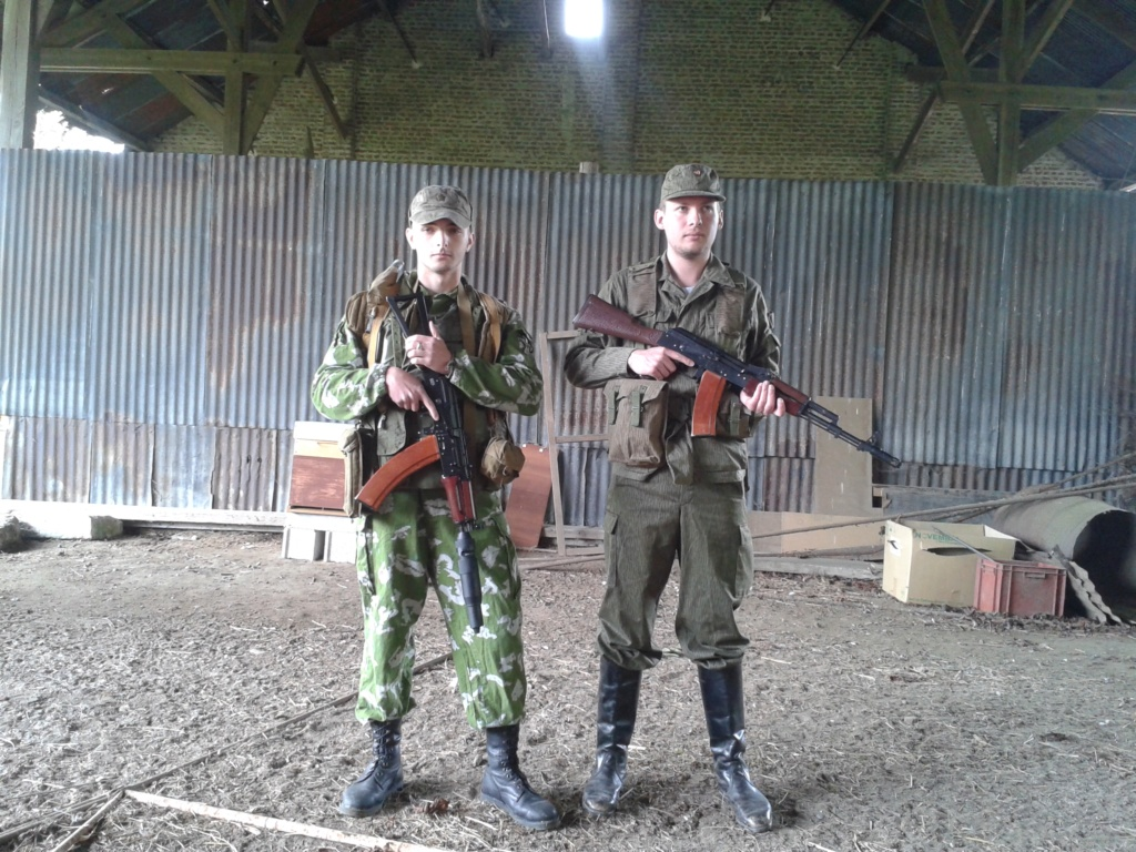 Manoeuvres communes URSS/NVA 20150526