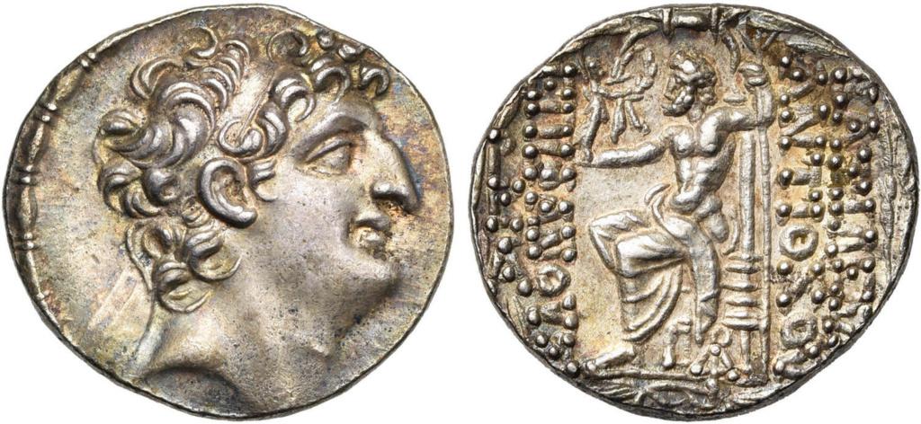 Tetradracma Antiochos VIII (108-96)AC Imperio Seleucida Image010