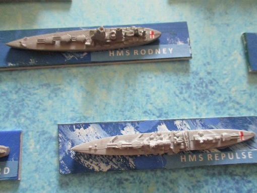 VICTORY AT SEA WARGAME FIGURINES