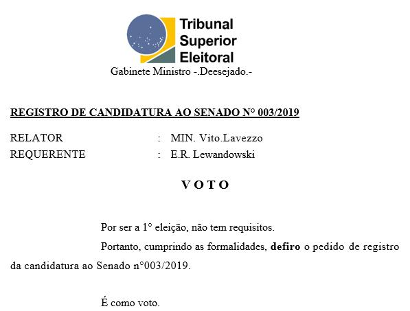 [REQ] Reg. Cand. Senado 003/2019 Sem_t136