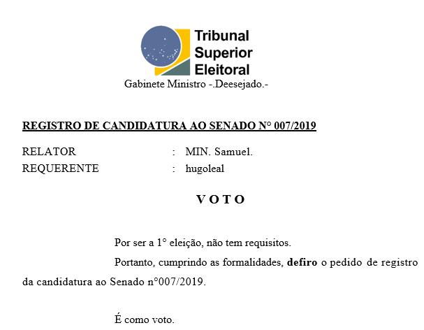 [REQ] Reg.Cand.senado n°007/2019 Sem_t139