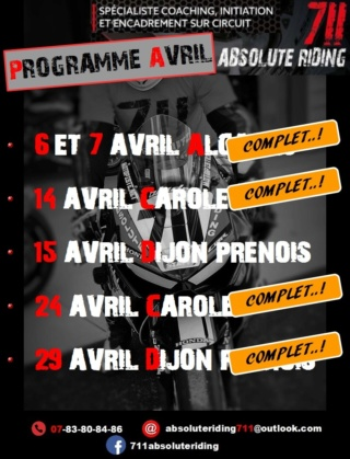 CALENDRIER COACHING 2019 Avril10