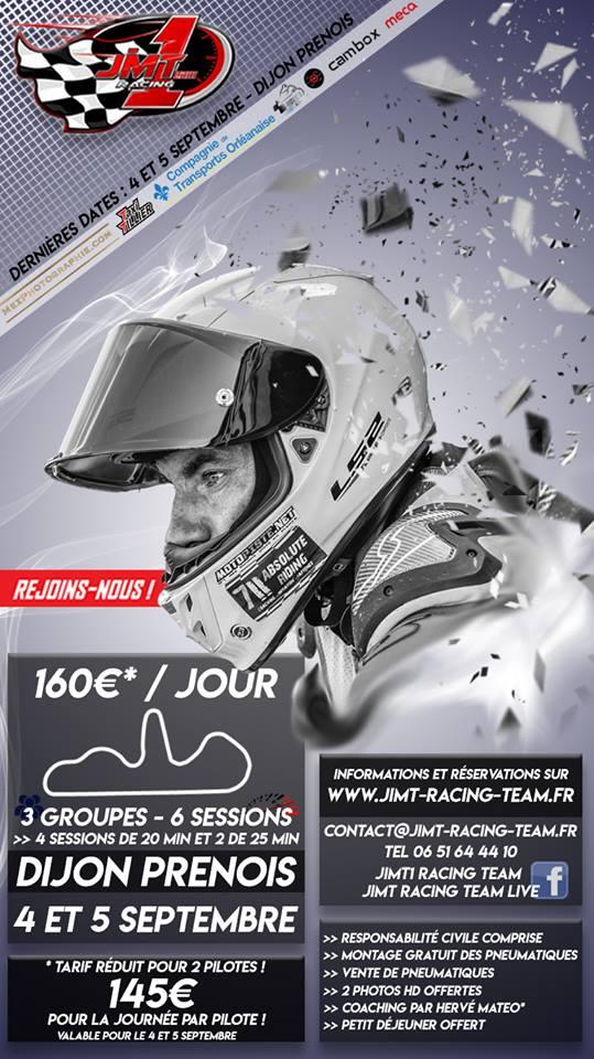 04 et 05 Septembre Dijon prenois avec JIMT1 Racing. Dijjim11