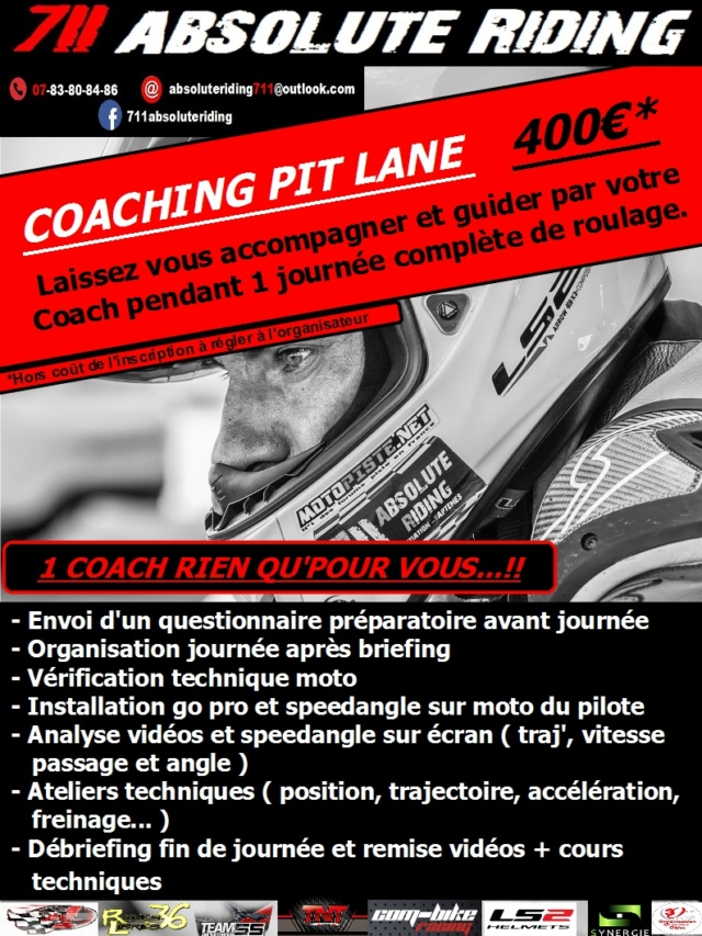 CALENDRIER COACHING BAPTEMES 2018 Formul15