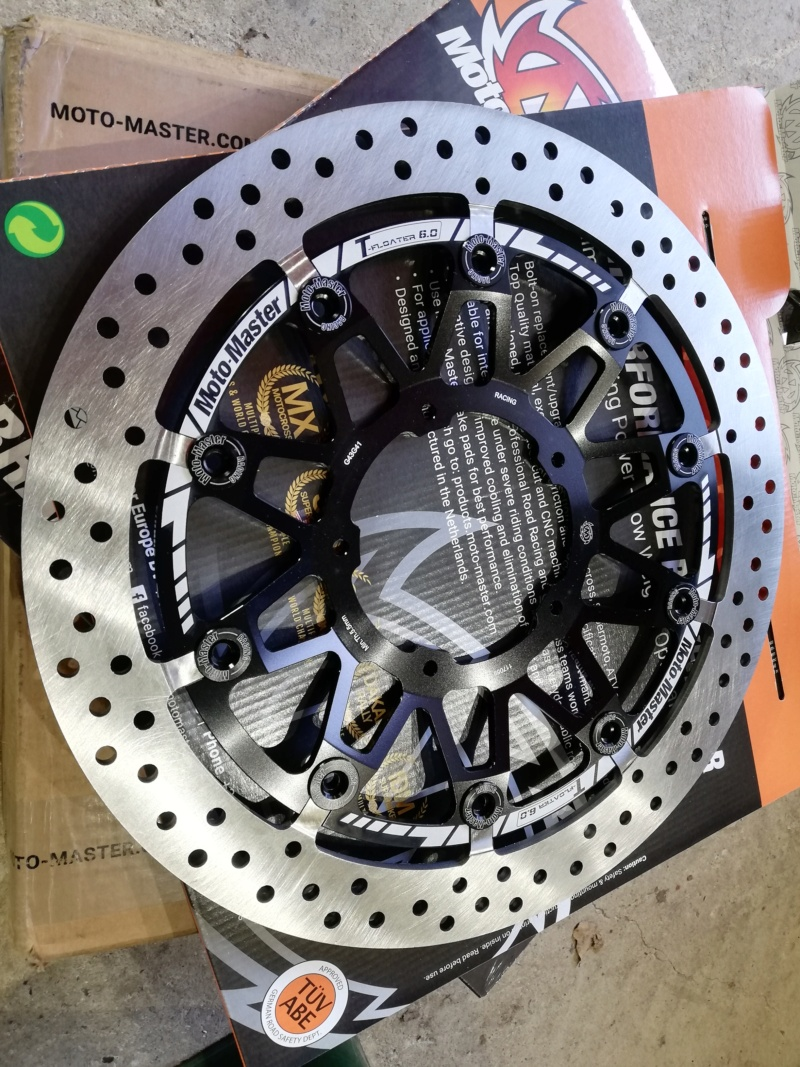 DISQUES MOTO MASTER T FLOATTER 6 MM CBR 1000 2020 / 500€ Img_2191